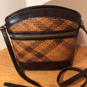 Stunning vintage wicker bag